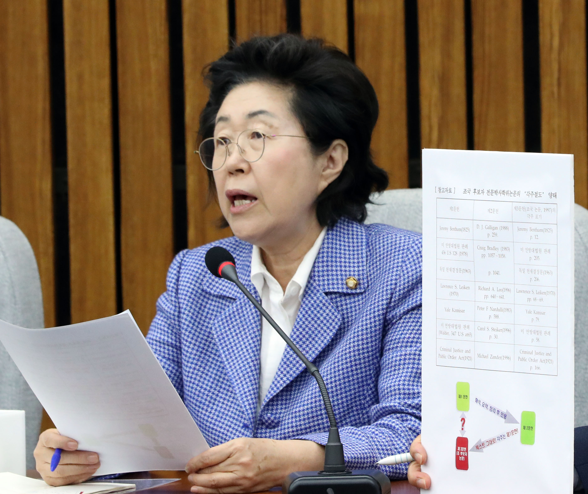 이은재 자유한국당 의원. 김경록 기자