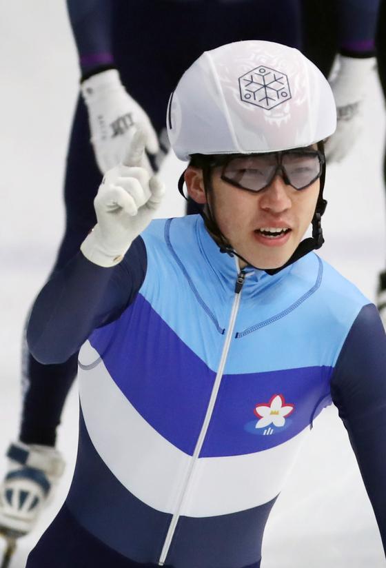 쇼트트랙 국가대표 박지원. [뉴스1]