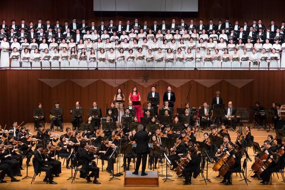 서울시립교향악단은 2006년부터 한 해(2007년)를 제외하고 매년 12월 '합창'을 공연하고 있다. [사진 서울시향]