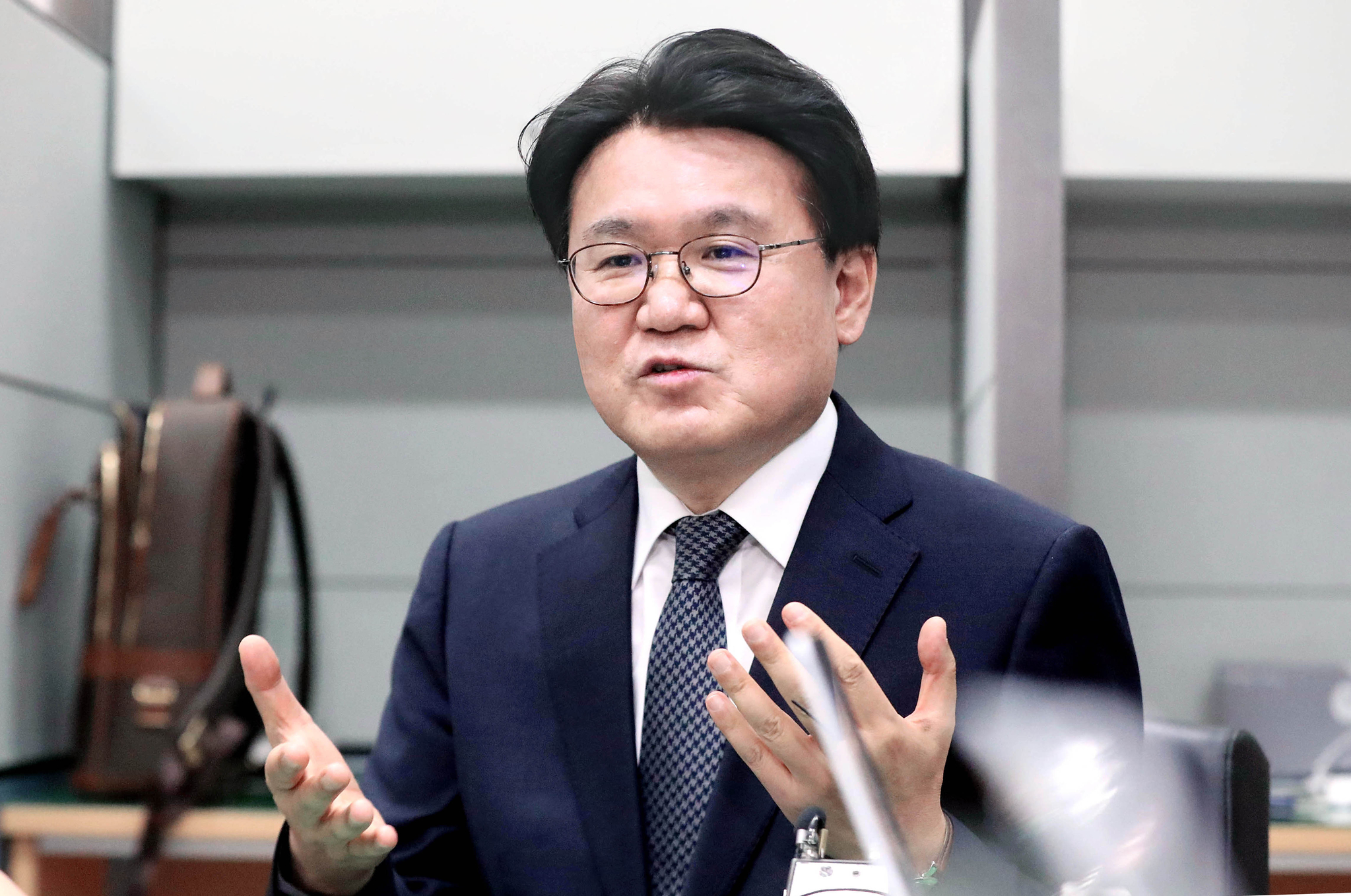 황운하 대전지방경찰청장. [뉴스1]