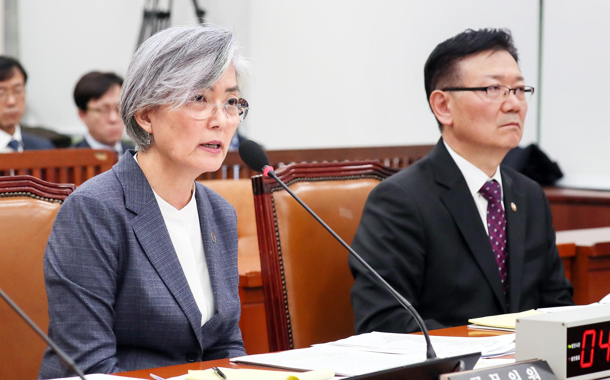 강경화 외교부 장관. 임현동 기자
