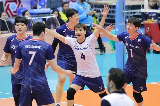 아시아선수권에 출전한 남자배구 대표팀