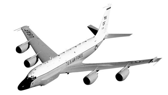 RC-135W 리벳조인트 정찰기. [연합뉴스]