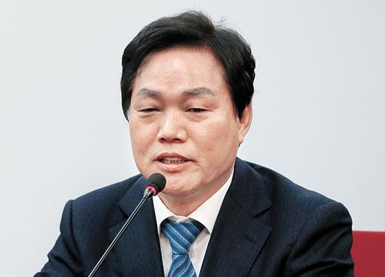 박완수 신임 자유한국당 사무총장. [뉴스1]