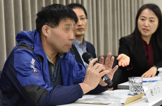 화성연쇄살인 8차 사건의 범인으로 지목돼 20년 동안 억울한 수감생활을 한 윤모(52)씨. [뉴시스]