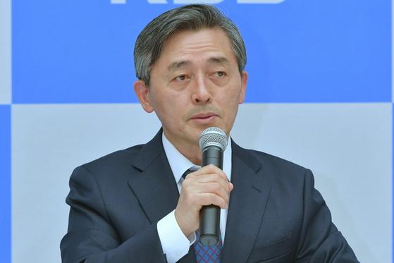 2일 서울 여의도에서 열린 기자간담회에 참석한 KBS 양승동 사장. [사진 KBS]