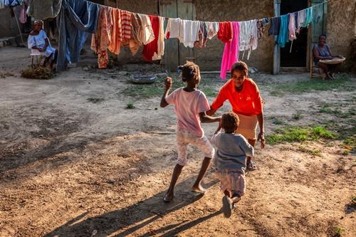 아이티 아이들. [사진 허호]