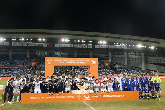 '박지성 모교' 명지대 'FISU UNIVERSITY WORLD CUP-FOOTBALL' 동메달