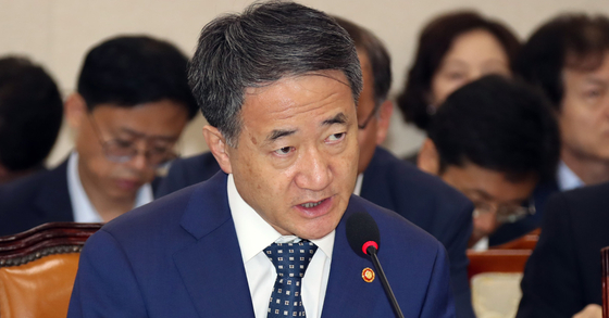 박능후 보건복지부 장관. 변선구 기자