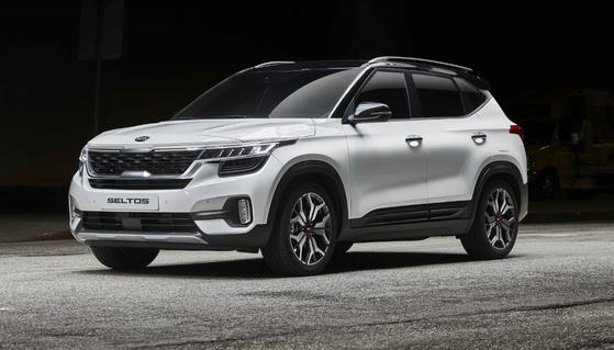 기아차 셀토스는 4개월 연속 소형 SUV 판매 1위를 지키고 있. [사진 기아자동차]