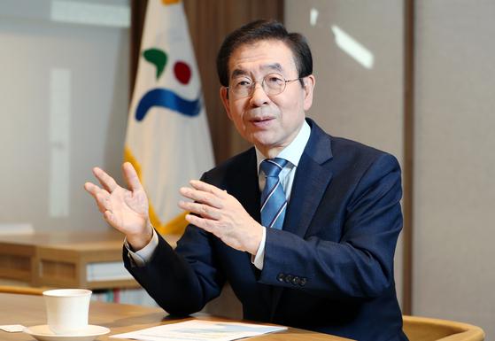 박원순 서울시장. 신인섭 기자
