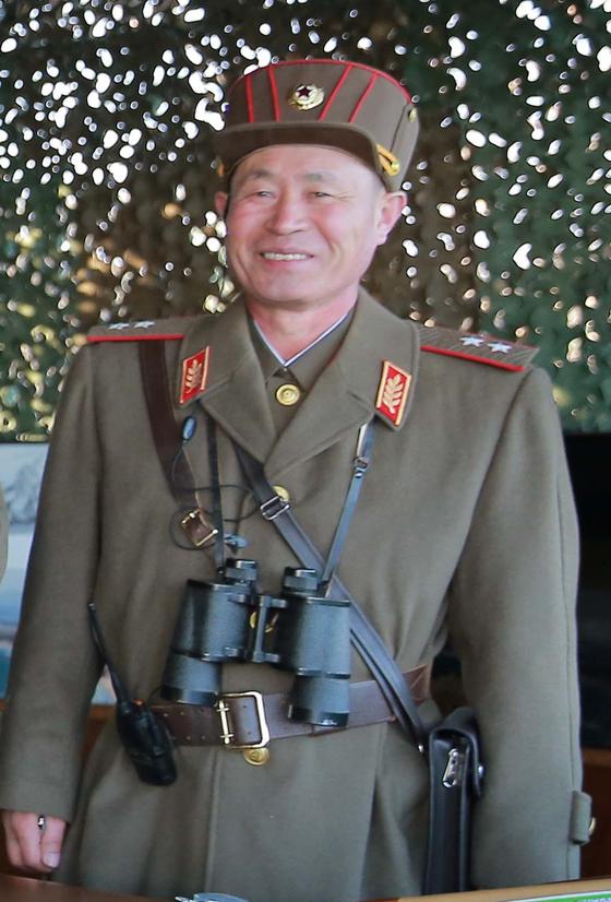박정천 북한 인민군 총참모장. [연합뉴스]