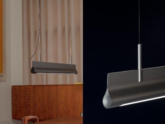 스웨덴 콘스트팍에서 산업 디자인을 공부한 두 디자이너 John Astbury 와 Tove Thambert가 아고와의 협업으로 만든 조명 '핀치(Pinch).' 둥글게 만 종이를 집게 핀으로 잡아 올린 듯한 유려한 조형미가 돋보인다. [사진 Studio_dosi]