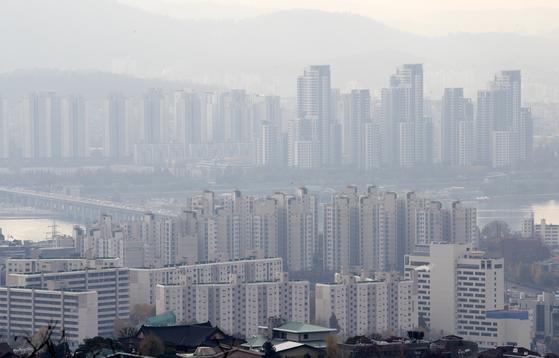11월 24일 서울의 아파트 단지들 [연합뉴스]