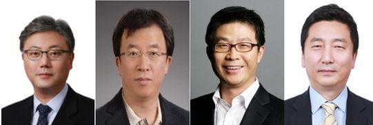 박성하, 차규탁, 최진환, 이용욱(왼쪽부터)