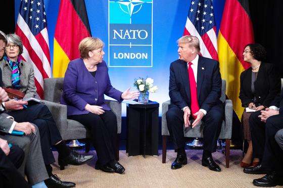 메르켈·트럼프 회담