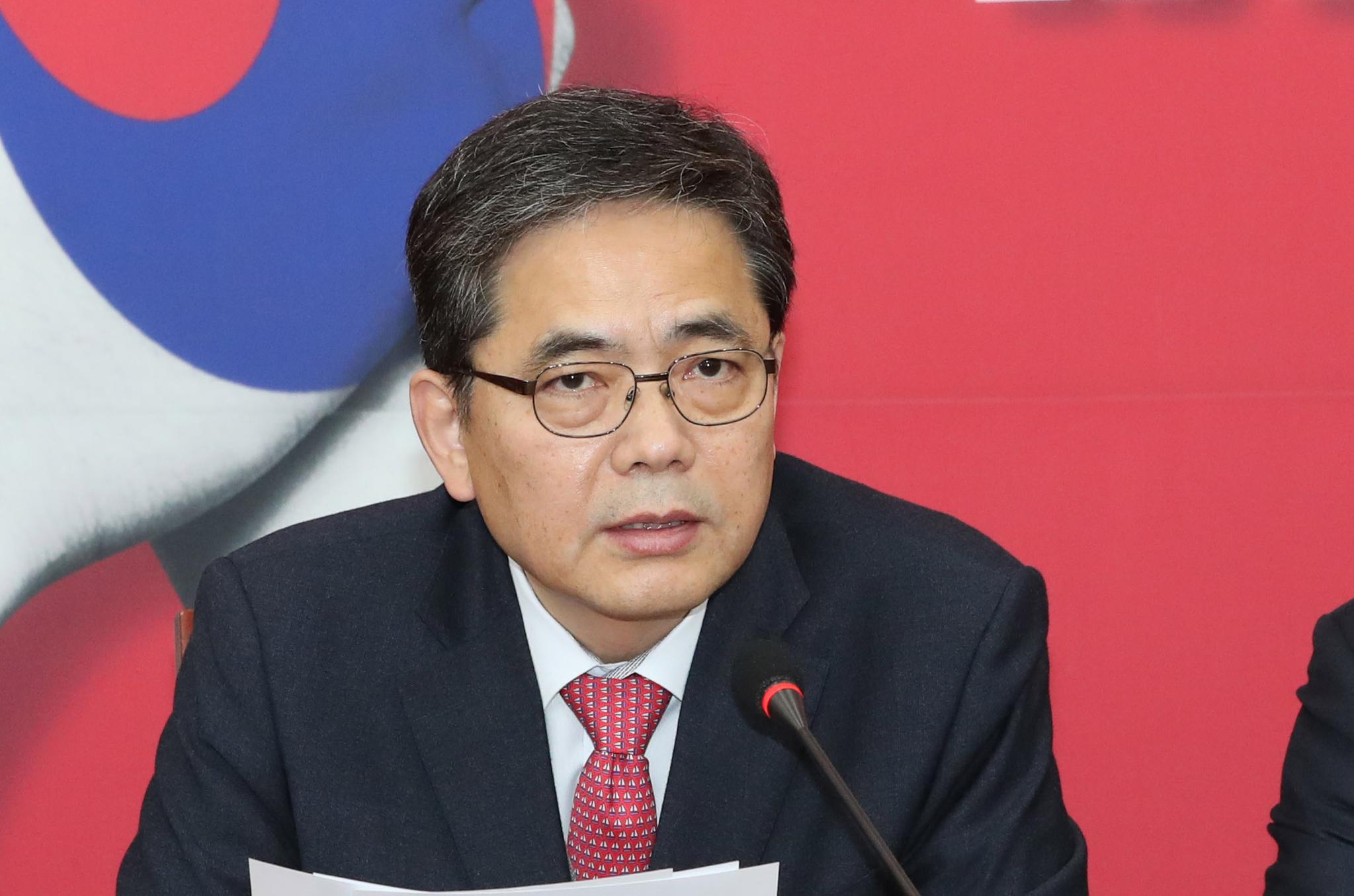 자유한국당 곽상도 의원. [연합뉴스]