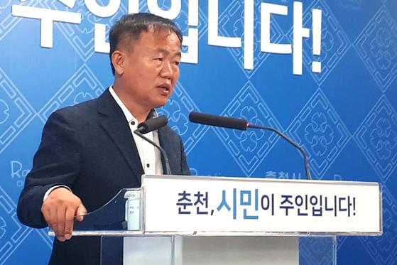이재수 강원 춘천시장. [뉴스1]