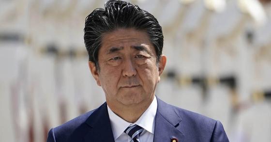 아베 신조 일본 총리. [EPA=연합뉴스]