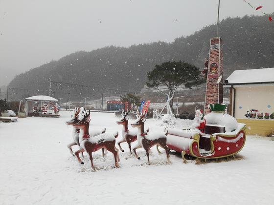 분천리 산타마을. 지난해 겨울 모습. [사진 봉화군]