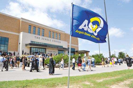 앤젤로주립대는 미국 현지에서 학생들이 취업할 수 있는 다양한 실무 프로그램을 지원한다. 사진은 미국 텍사스에 위치한 앤젤로주립대 전경.