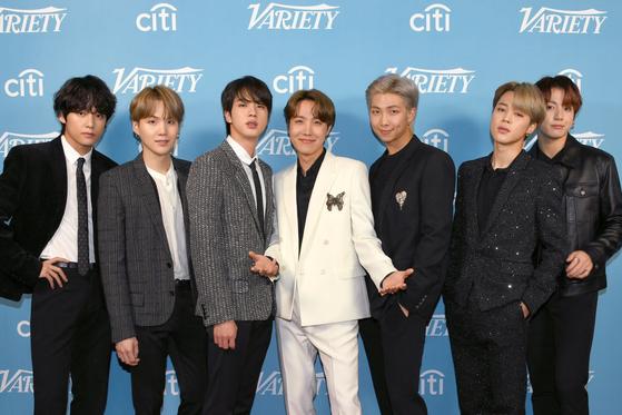 방탄소년단/Getty Images