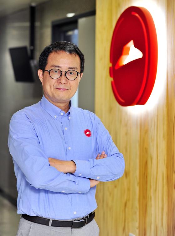 지난 8월 취임한 피자헛 김명환 대표가 3년 안에 업계 1등을 탈환하겠다고 말했다. [사진 한국피자헛]