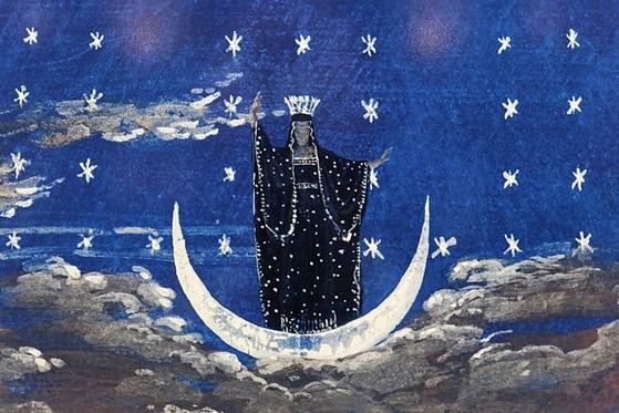 밤의 여왕. [사진 Wikimedia Commons]