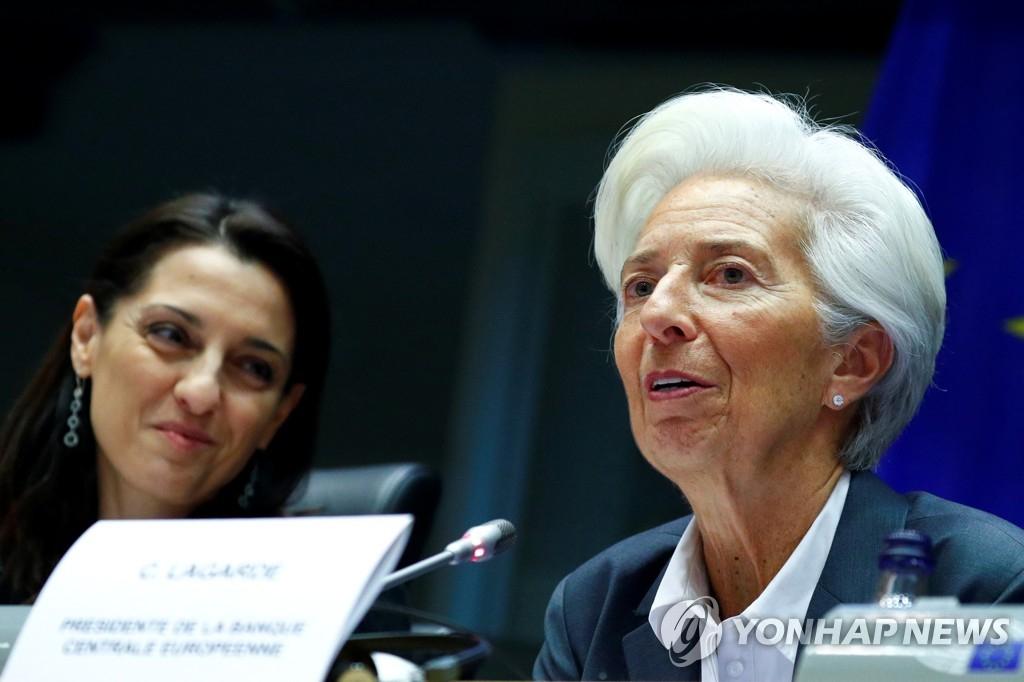 유럽중앙은행(ECB) 크리스틴 라가르드 신임 총재. [베를린=연합뉴스]