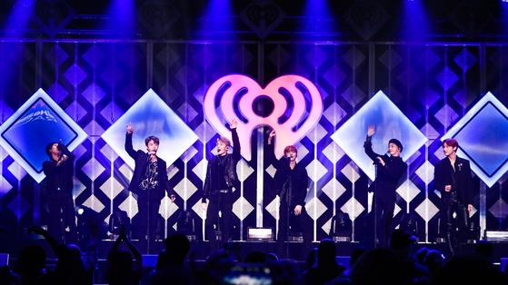 몬스타엑스, 미국 뉴욕 '징글볼'(Jingle Ball) 공연 / 사진=스타쉽엔터테인먼트