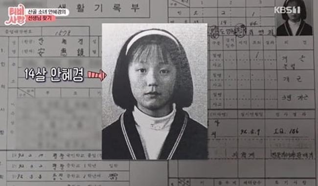 [사진 KBS1 'TV는 사랑을 싣고']