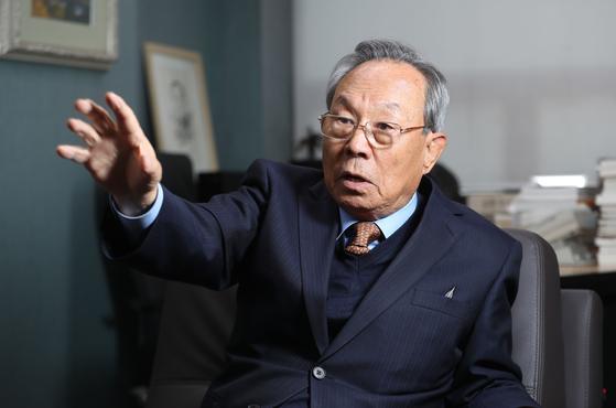박관용 전 국회의장. [중앙포토]