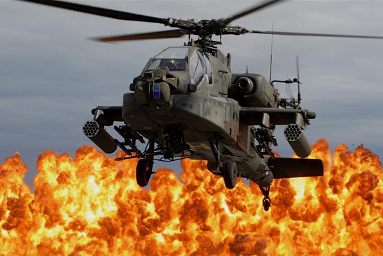 AH-64 아파치. [사진 미 국방부]