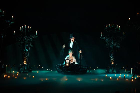 13일 부산 드림씨어터에서 첫 공연을 한 '오페라의 유령' 월드투어. 오리지널팀의 세번째 내한이다. [사진 에스앤코]