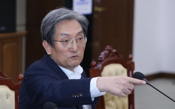 노영민 청와대 비서실장. [연합뉴스]