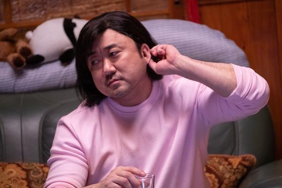 조금산 작가의 동명 웹툰을 기반으로 한 영화 '시동'에서 거석이형을 연기한 마동석 배우. [사진 NEW]