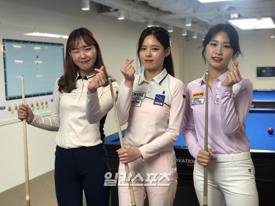 (왼쪽부터)허지연, 서한솔, 전애린
