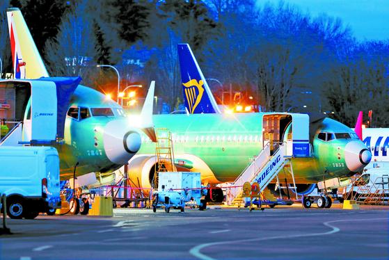 두 차례 참사 보잉 737맥스 생산 중단