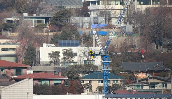 이명희 신세계그룹 회장의 서울 용산구 한남동 주택의 모습. [연합뉴스]