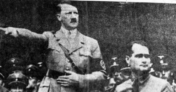 나치 독재자 아돌프 히틀러. [중앙포토]