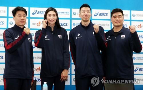 임도헌 감독이 2020 도쿄 올림픽 출사표를 전했다. 사진 = 연합뉴스