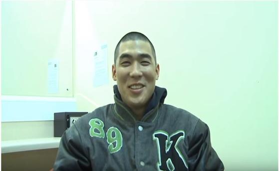 차범근 전 축구감독의 막내아들 차세찌(33)씨. [사진 대웅제약 유튜브 캡쳐]
