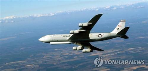 E-8C 조인트스타즈. [미 공군 홈페이지=연합뉴스]