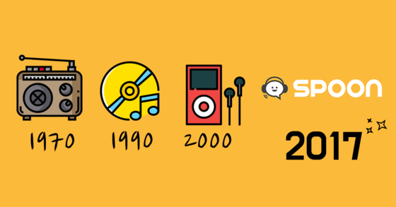 오디오 플랫폼 '스푼라디오'가 3000억원의 기업가치를 인정받으며 24일 450억원을 새로 투자 유치했다. [사진 스푼라디오]