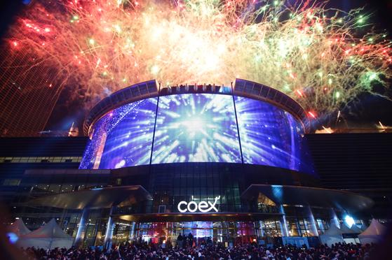 Картинки по запросу coex fireworks 2020