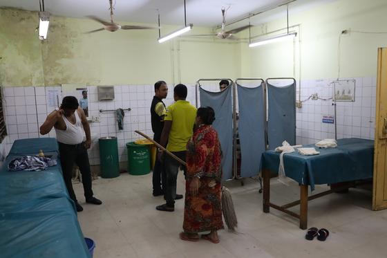 2018년 9월 방글라데시 콕스바자르의 사다르 병원 응급의료센터. 우상조 기자