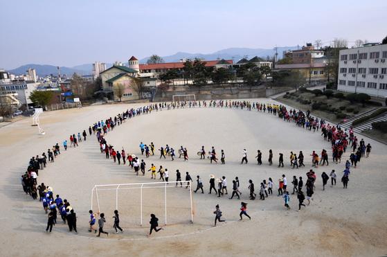 경남 거창고 모습. [중앙 포토]