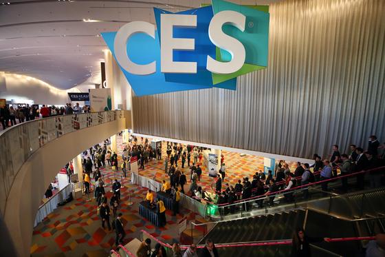 지난해 1월 열린 세계 최대 가전·IT 박람회 'CES(Consumer Electronics Show) 2019' 〈연합뉴스〉