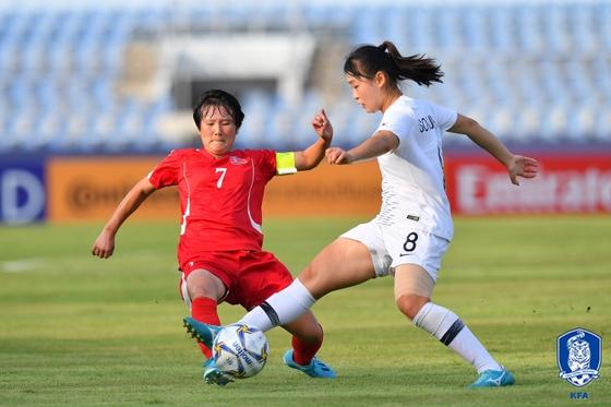 북한 여자축구가 도쿄올림픽 아시아지역 최종예선에 불참한다. [사진 대한축구협회]
