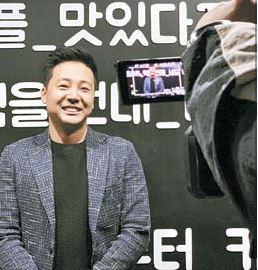 김성우 대표는 국내 처음으로 배달 전문 카페 프랜차이즈를 도입했다.